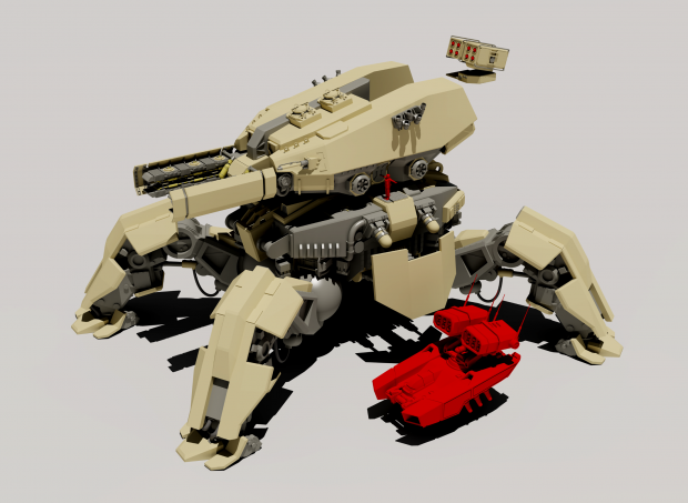 Atlas Mech (Work in Progress)
