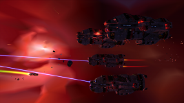 Heavy Cruisers on Kadesh