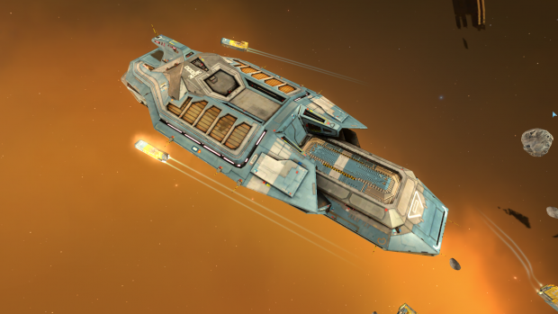 The Ancient Hiigaran Carrier