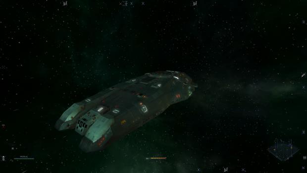 Hiigaran Gunship in X3
