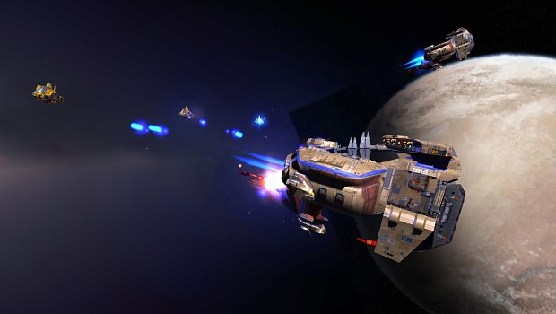 New Kushan Assault Frigate
