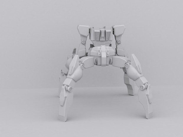 Quad-Mech Work In Progress