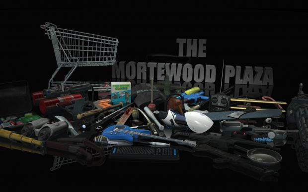 The Mortewood Plaza - Further Weapon Render