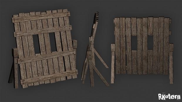 Medieval screen