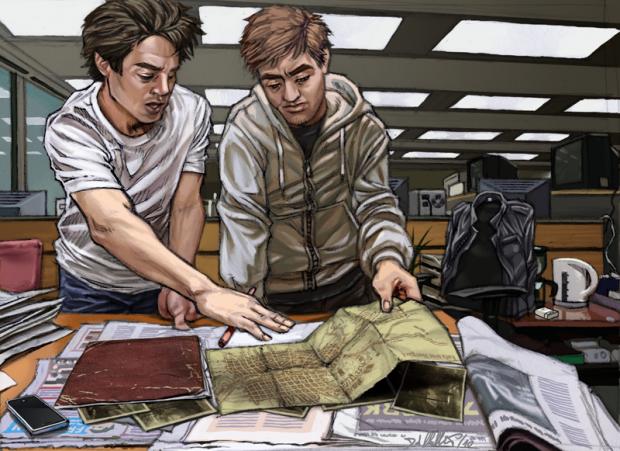 Concept Art: Adam and Roy