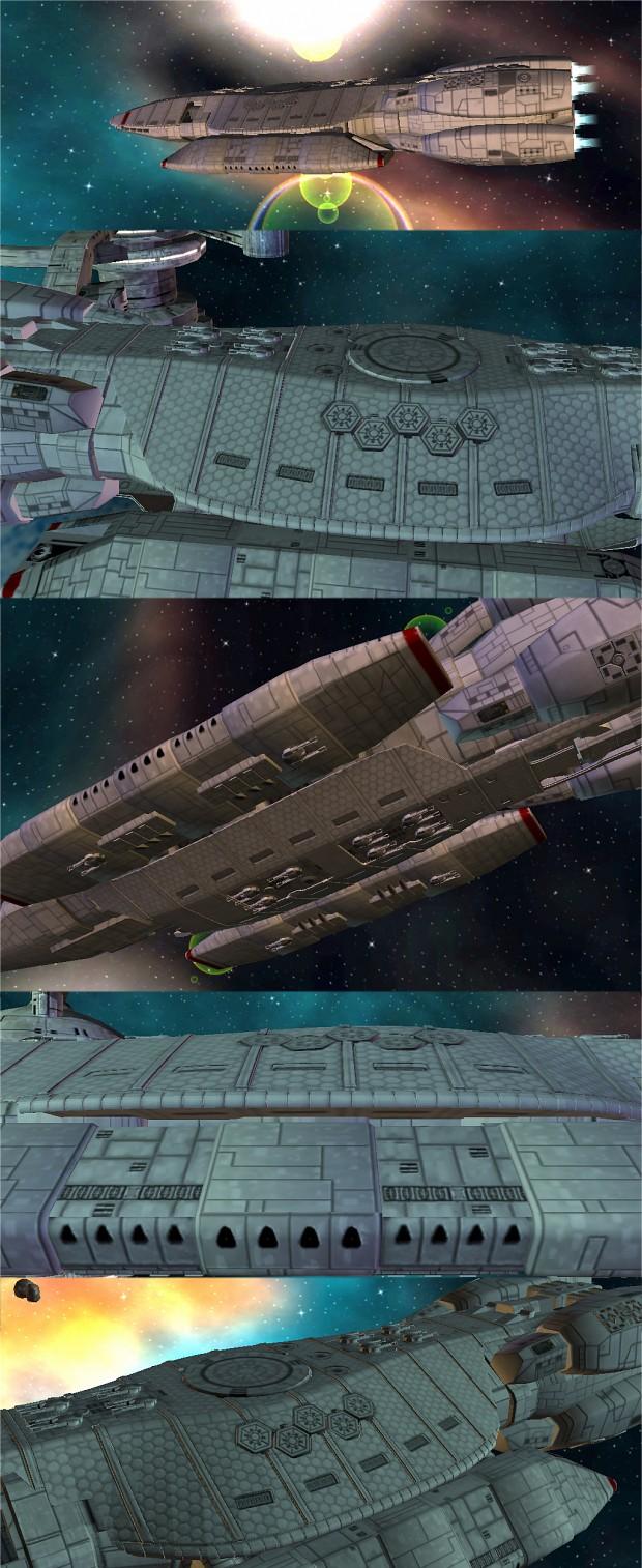 My Battlestar Galactica Mod