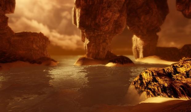 Water shader - UDK