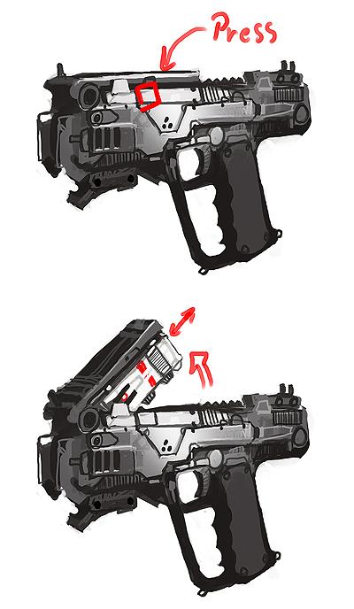 Plasma pistol concept