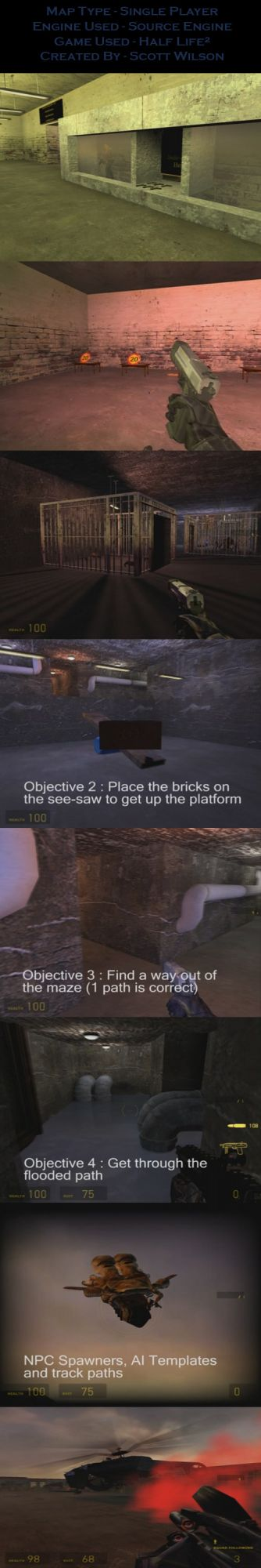 Half Life 2 SP Map