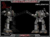 RifleMan BattleMech