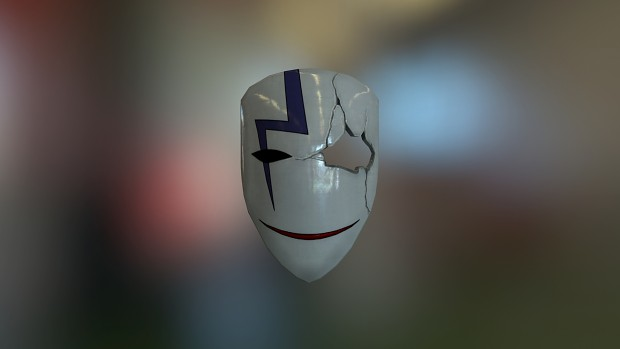 "BK-201 Mask ""Hei mask"""