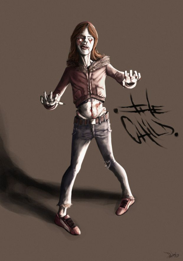 Zombie concept finished
