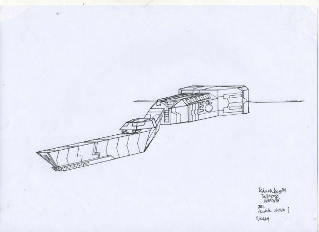Tekanako Tallgeese class Interceptor