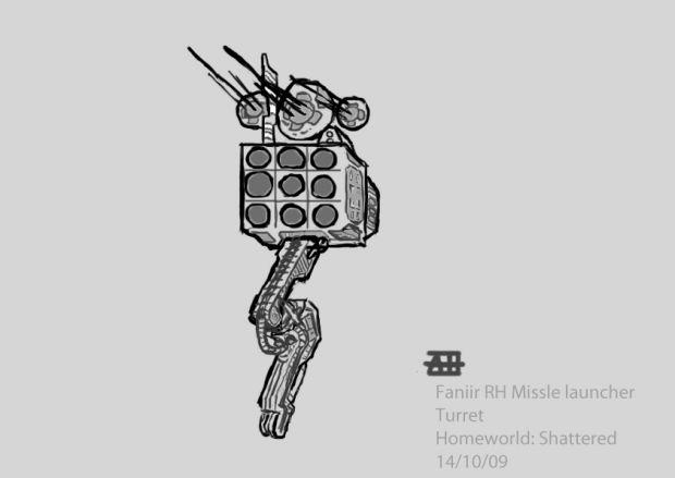 Faniir RH Missile Launcher Turret