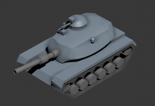 USA Medium Tank - M60 Inspired