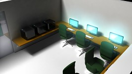 College study center design