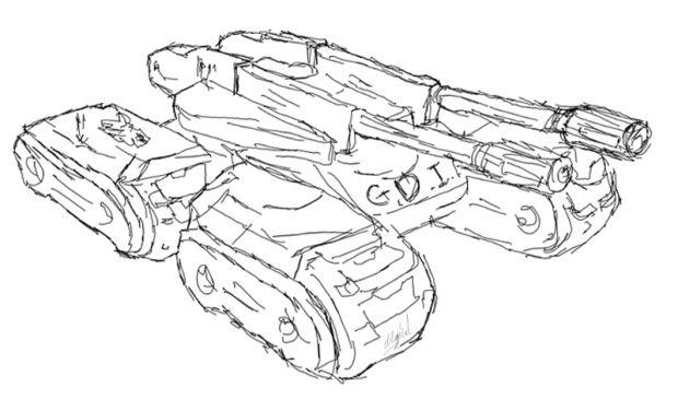 C&C Mammoth Tank