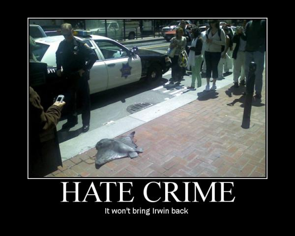 Sealife Hate Crime