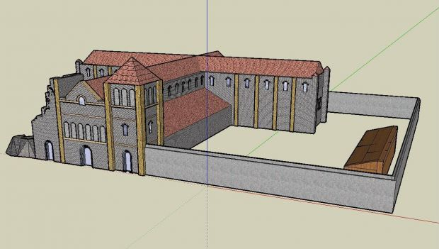 """Cathedral from"""" Pillars of Earth"""" phase 3"""