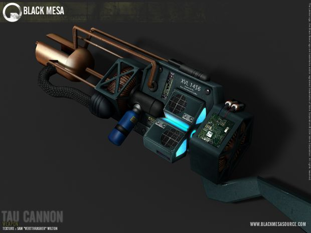 Tau Cannon - The Best Weapon in Half-Life Saga