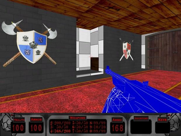 Shield sprites in game