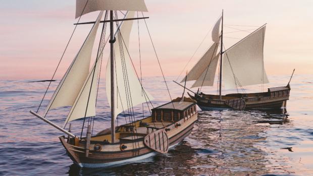 17th Century Dutch Yacht WIP