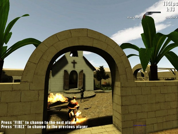 New renderer2 from ioq3 on Alamo map