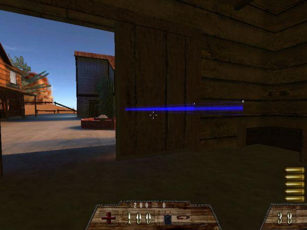 Shoot through doors bug