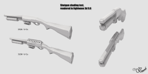 Shotgun shading test ^^