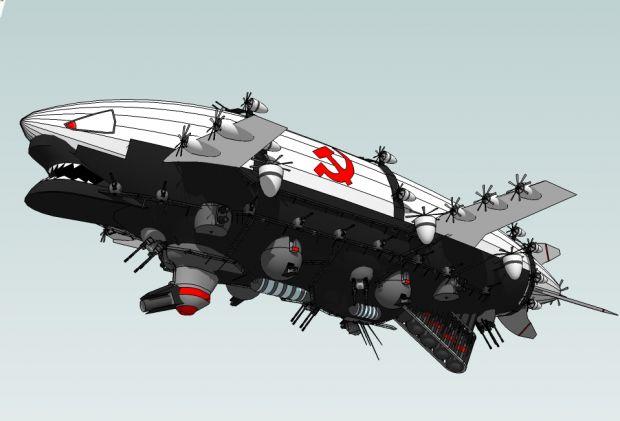 Soviet Kirov Airship