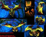 League Of Legends - Flaming Galio (skin)