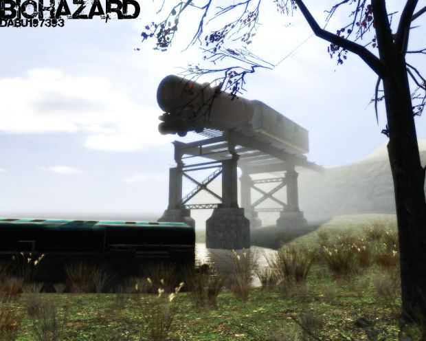 First Biohazard screenshot (veeeery old)