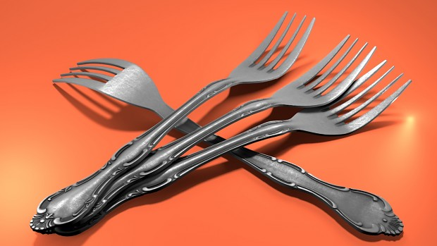 fork render made in ... Blender :D