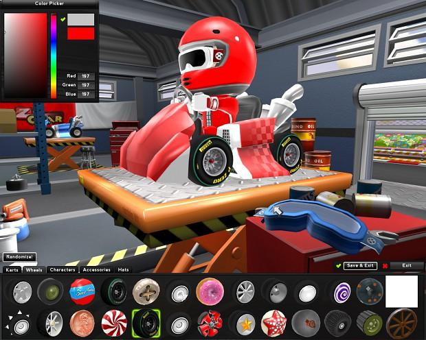 Zero Gear - F1 Wheels