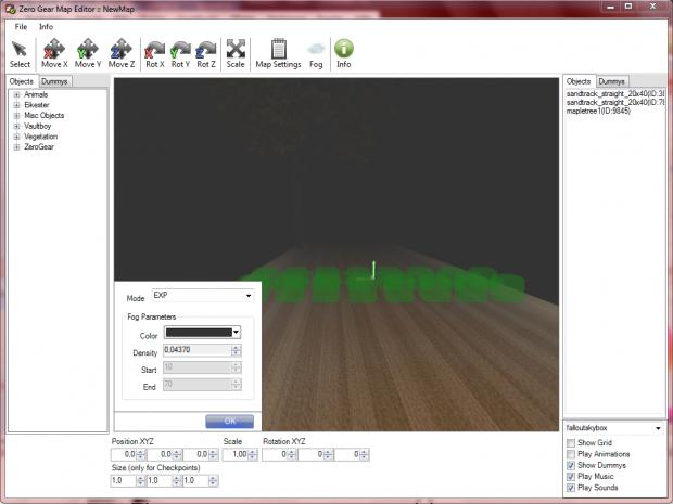 Zero Gear Map Editor (WiP)