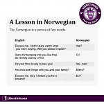 Norwegians don't talk much