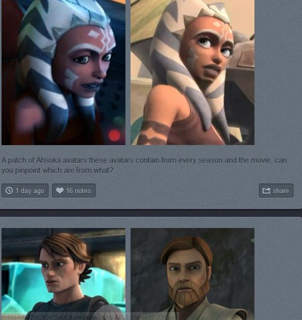 CaptainRegor's Star Wars Avatars