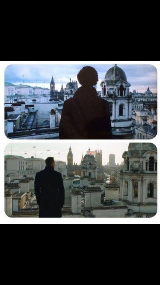 Sherlock/Skyfall