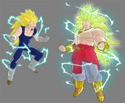 ssj3 vegeta and broly