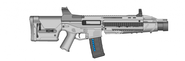NovaCor Assault Rifle
