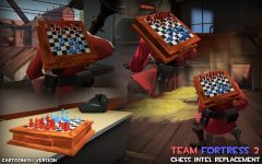 TF2 Chess Set Intel Replacement