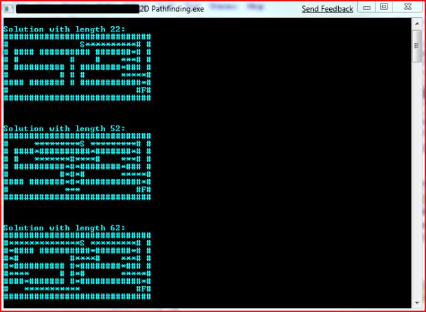 2D Maze Solver