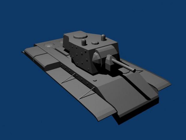 KV1 tank