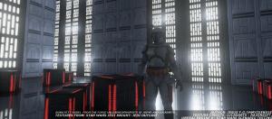 Jango Fett on the Death Star.