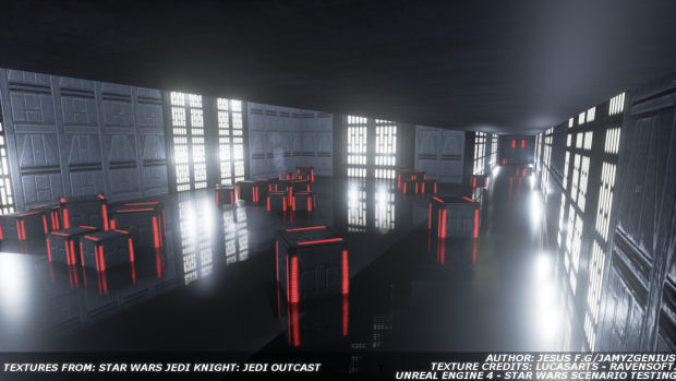 Star Wars Scene Testing [Unreal Engine 4]