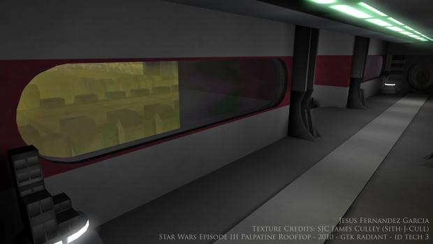 JKA Map – Ep3 Palpatine Rooftop - 2010 - GTK Radiant / ID Tech 3