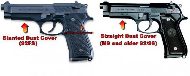 Beretta M9 vs Beretta 92FS image - PrivateSnowball - Mod DB