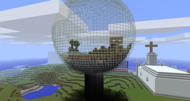 A piece of Minecraft...