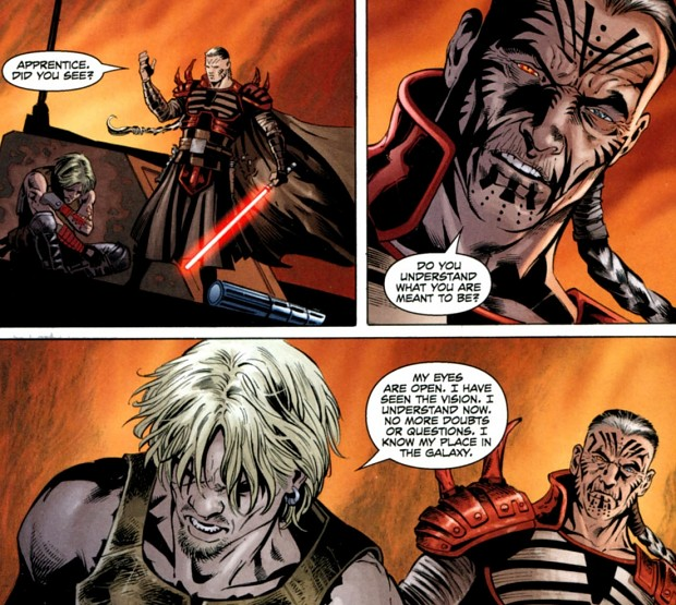 Darth Krayt vs Darth Talon Krayt Darth Talonก็เฝ้ารอ