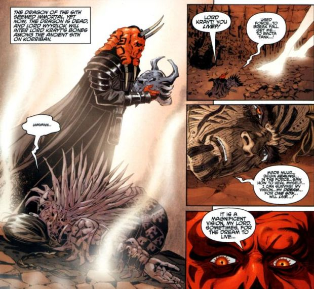 Darth Krayt vs Darth Talon Krayt Darth